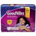 Save $2.00 on ONE (1) GOODNITES® Underwear (Jumbo pack or larger)