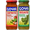 Save 55¢ off ONE (1) GOYA® Sofrito or Recaito, 12 oz. or larger.