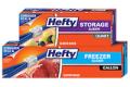 SAVE $1.00 off (2) Hefty® Slider Bags (12 count or higher)