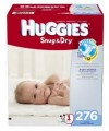Save $1.50 on ONE (1) package of HUGGIES Diapers (42ct or larger)