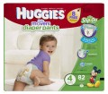 Save $1.50 off ONE (1) package of Huggies Little Movers Diapers (dollar value may vary)