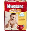 Save $1.50 on any ONE (1) package of Huggies Little Snugglers Diapers