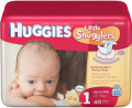 Save $3.00 on TWO (2) HUGGIES Little Snugglers Diapers