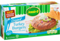 SAVE $0.75 on one (1) package of JENNIE-O® frozen Turkey Burgers (2 lb. package or larger)