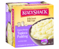 Save $0.75 when you purchase ANY ONE (1) Select 12-pack Kozy Shack® Pudding. Valid on Rice and Tapioca pudding.