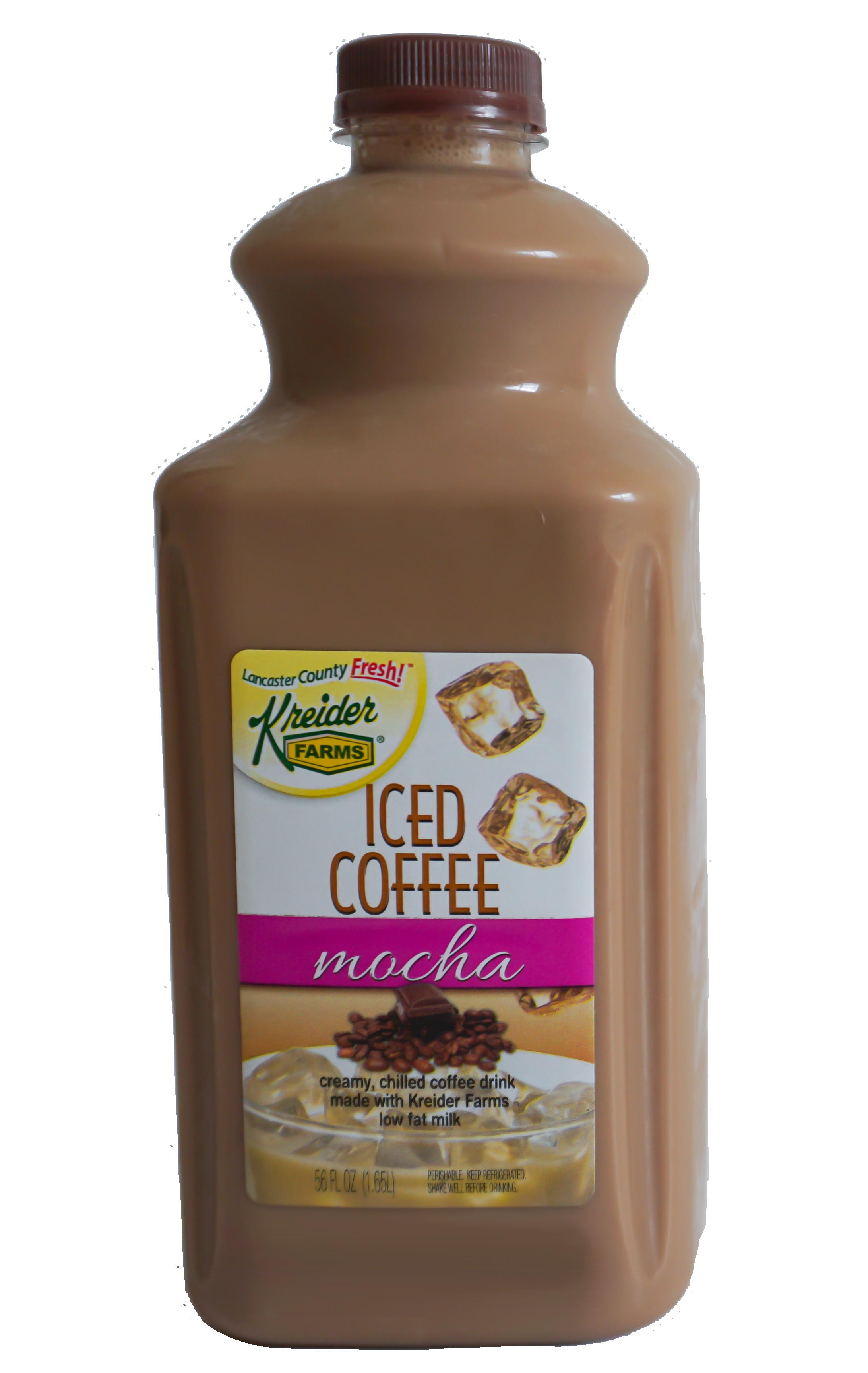Save $0.50 on any 56oz of Kreider's Iced Coffee Mocha