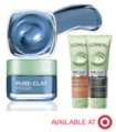 Save $1.00 on any L'Oréal Paris Pure Clay Mask or Cleanser Product