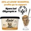 Save $0.50 and help Special Olympics when you buy any flavor of Lovin' Scoopful Ice Cream.