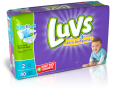 Save $0.75 on Luvs diapers