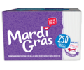 Save 55¢ off ONE (1) package Mardi Gras napkins