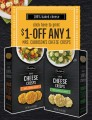 $1.00 off One Mrs Cubbisons Cheese Crisps Product