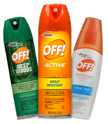 Save $0.55 on any OFF! product (see exclusions)