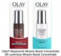 Save $2.50 on ONE Olay Regenerist Miracle Boost Concentrate OR Luminous Miracle Boost Concentrate (excludes trial/travel size).