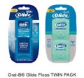Save $1.50 on Oral-B® Glide Floss TWIN PACK