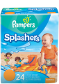 Save $1.00 off ONE (1) Pampers® Splashers Swim Pant. Join Pampers & get 100 points!