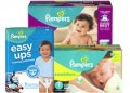 Save $2.00 off TWO Pampers® Diaper Packs (excludes trial/travel size)
