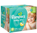 Save $1.00 on Pampers Baby Dry Diapers