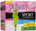 SAVE $1.00 on any ONE (1) Playtex® Sport® or Playtex® Gentle Glide® Tampons