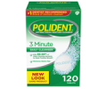 Save $1.50 off ONE (1) Polident® denture cleanser tablets (40ct or larger)