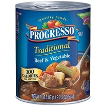Save $0.50 when you buy ONE CAN any flavor canned Progresso™ Soup — Weekly Offer