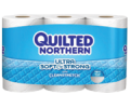 Save 50¢ on any ONE (1) Quilted Northern® Bath Tissue, 6 Double Rolls or Larger