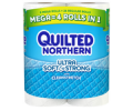 Save 50¢ on any ONE (1) Quilted Northern® Ultra Soft and Strong Bath Tissue, 6 Double Roll or larger