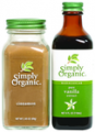 Save $1.50 on any TWO (2) Simply Organic Bottled Spices, Extracts or Flavors