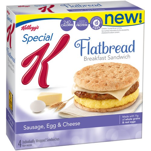 SAVE $1.00 on any TWO Kellogg's® Special K® Flatbread Breakfast Sandwiches