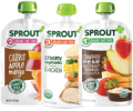 Save $2.00 ON Any FIVE (5) Sprout Organic Baby or Toddler Food Pouches