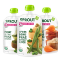 Buy ONE (1) Sprout Organic Baby or Toddler Puree Pouch and get ONE (1) Sprout Organic Baby or Toddler Puree Pouch Free (up to a $1.62 value)