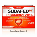 Save $1.00 on any (1) Adult SUDAFED PE® product (excludes trial sizes)