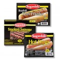 Save 50¢ off any one (1) package Sugardale® Hot Dogs, Beef Franks, or Smoked Sausage