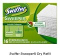 Save $0.75 on Swiffer Sweeper® Dry Refill
