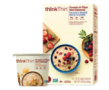 Walmart only: Save $1.00 when you buy any ONE (1) thinkThin® Protein & Fiber Hot Oatmeal box/bowl. Any variety.