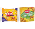 Save $1.00 when you buy TWO (2) PACKAGES 17.4 OZ-19.8 OZ any flavor Totino's™ Pizza Rolls™ Snacks OR Stuffed Nachos