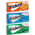 SAVE $1.59 when you buy THREE (3) TRIDENT Gum Single Packs (any variety)