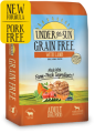 Save $5.00 on any one (1) Under the Sun 10lb or larger bag of dry food for dog or cat