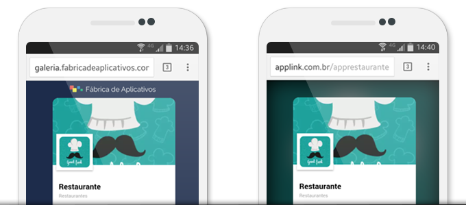 App sem marca da Fábrica