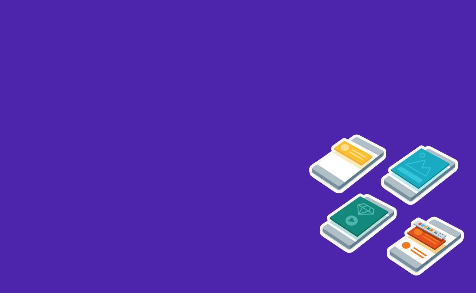 Crie um aplicativo em <br />poucos minutos.
