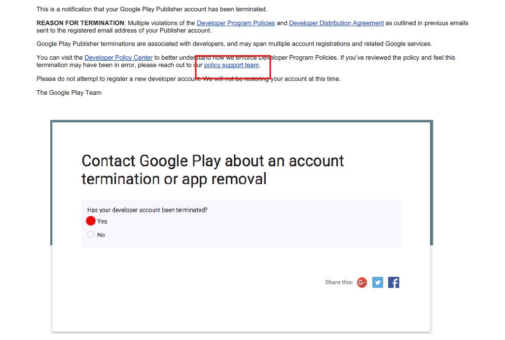 Primeiro Passo: Conta Google Play
