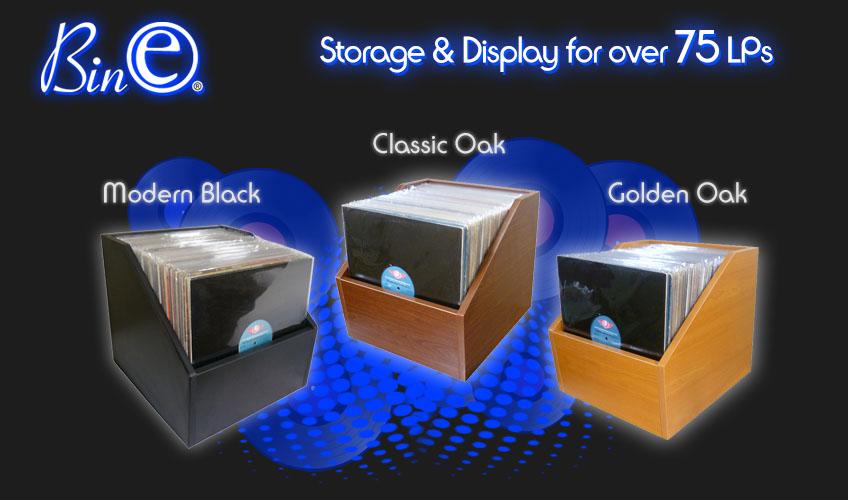 Bin-e LP Storage