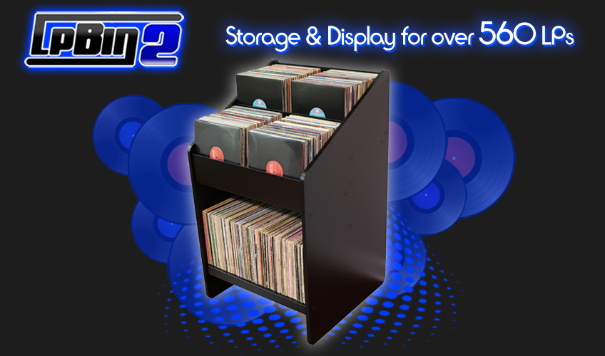 LPBIN2 LP Storage