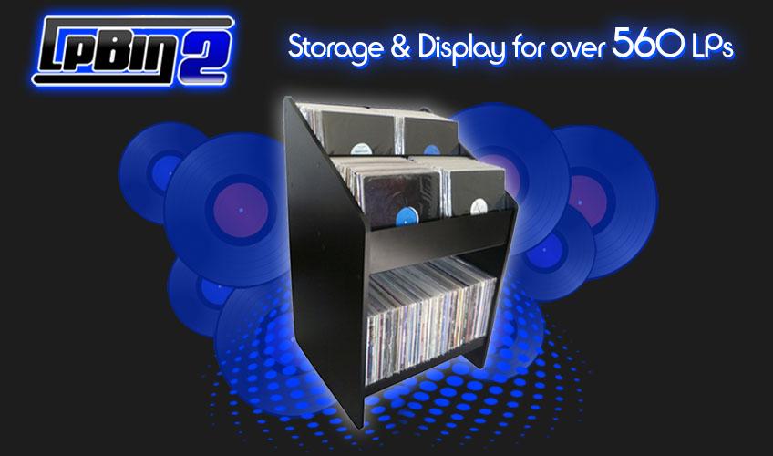 LPBIN2 LP Storage
