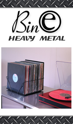 Bin-e Heavy Metal LP Storage