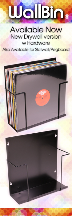 WallBin LP Storage