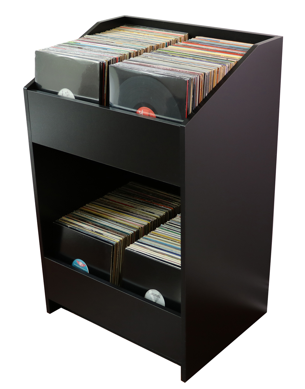 vinyl record storage cabinet cabinets matttroy. Black Bedroom Furniture Sets. Home Design Ideas