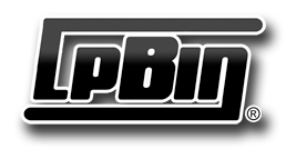 LPBIN LP Storage Logo