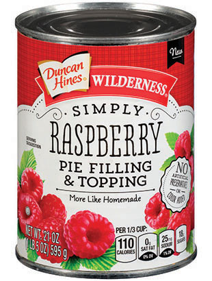 Duncan Hines Wilderness® Simply Raspberry Pie Filling & Topping