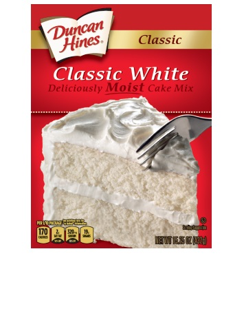 Recipes Using Duncan Hines Classic White Cake Mix