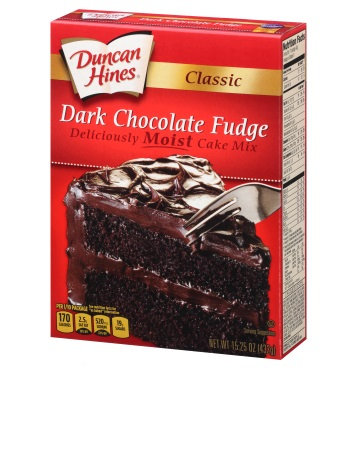 Classic Dark Chocolate Fudge Cake Mix